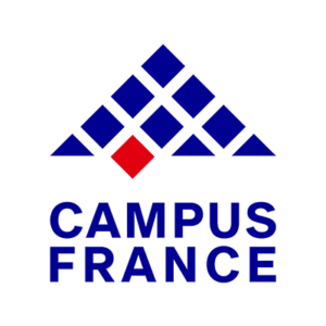 open a new tab with Campus France website