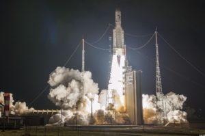 Rocket Launch Ariane ESA