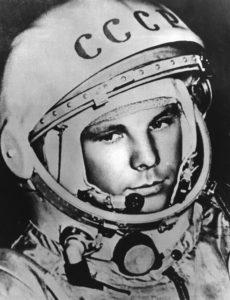 Yuri Gagarin on 12 April 1961