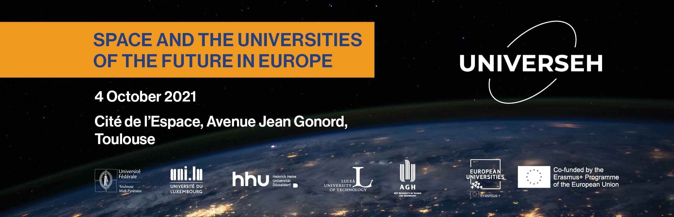 Conference Space and the Universities of the Future in Europe 4 October